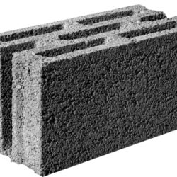 Стеновой щебнево-бетонный блок ALFA