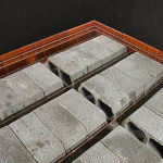 Перекрытия - бетонные, керамзитобетонные. Блоки фундаментные, стеновые.