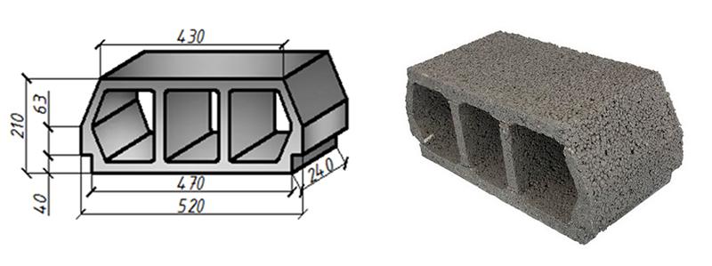 Блок BREGO-CLASIC (Teriva)